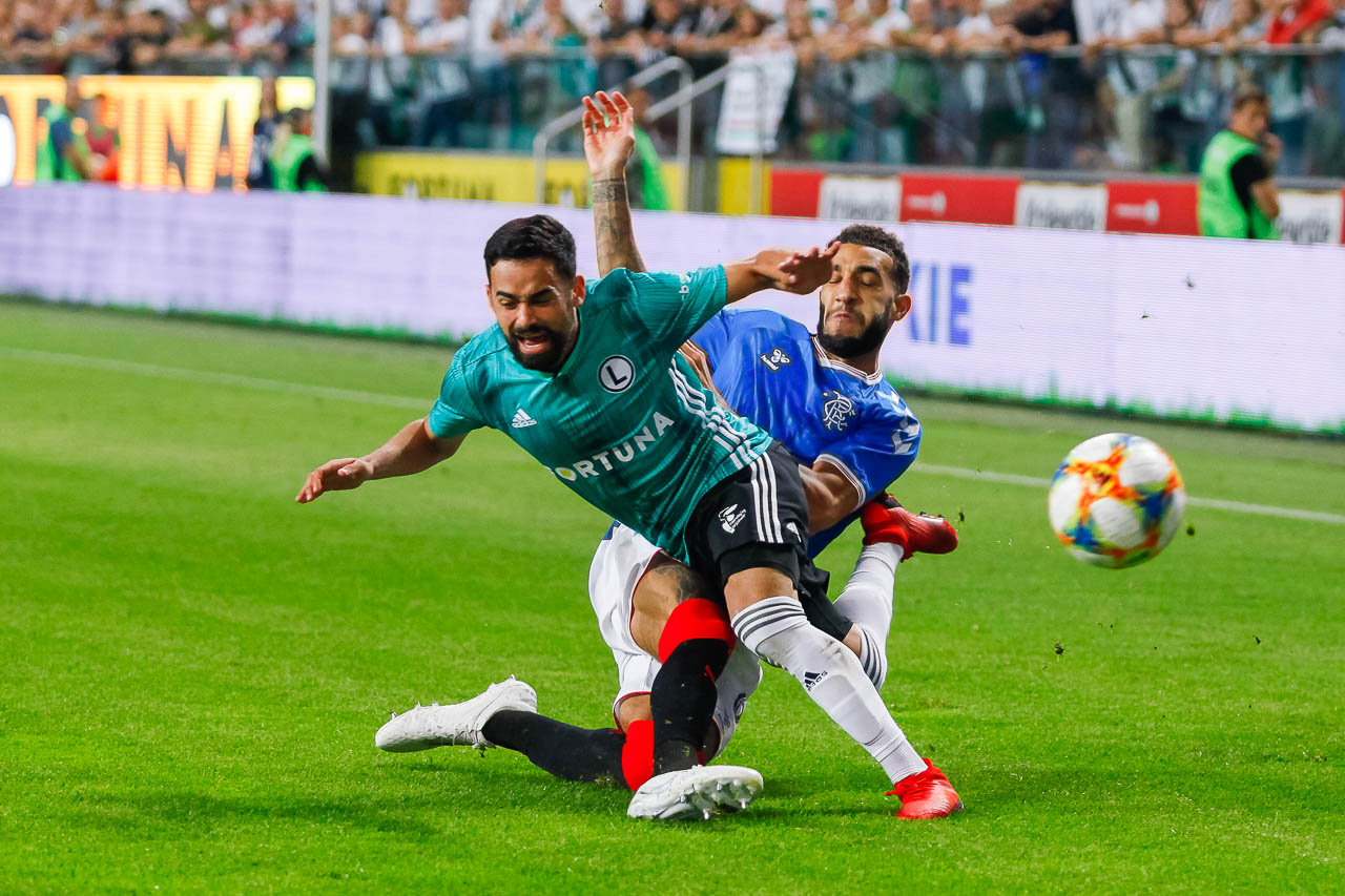 Legia Warszawa 0-0 Rangers FC - fot. Piotr Galas (zdjęcie 49 z 75)