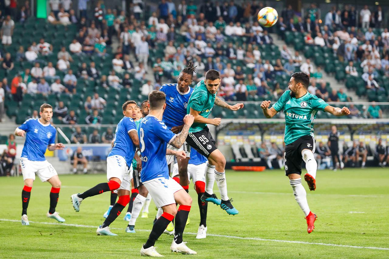 Legia Warszawa 0-0 Rangers FC - fot. Piotr Galas (zdjęcie 50 z 75)