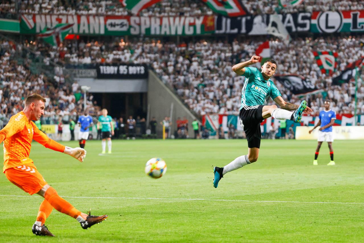 Legia Warszawa 0-0 Rangers FC - fot. Piotr Galas (zdjęcie 51 z 75)