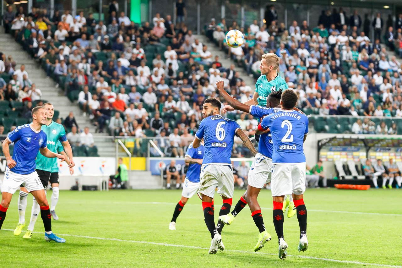 Legia Warszawa 0-0 Rangers FC - fot. Piotr Galas (zdjęcie 54 z 75)