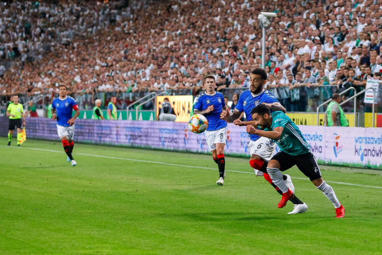 Legia Warszawa 0-0 Rangers FC - fot. Piotr Galas (zdjęcie 55 z 75)