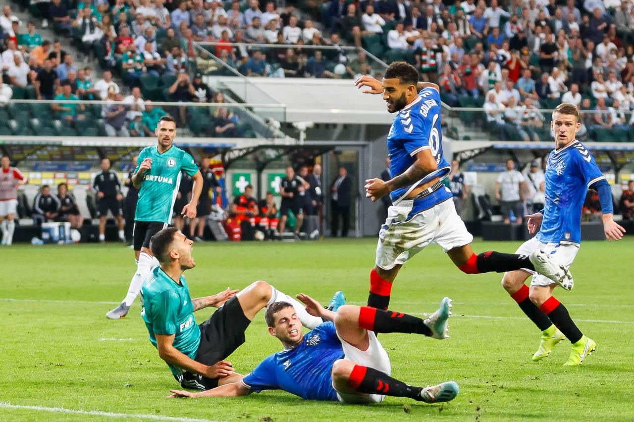 Legia Warszawa 0-0 Rangers FC - fot. Piotr Galas (zdjęcie 56 z 75)