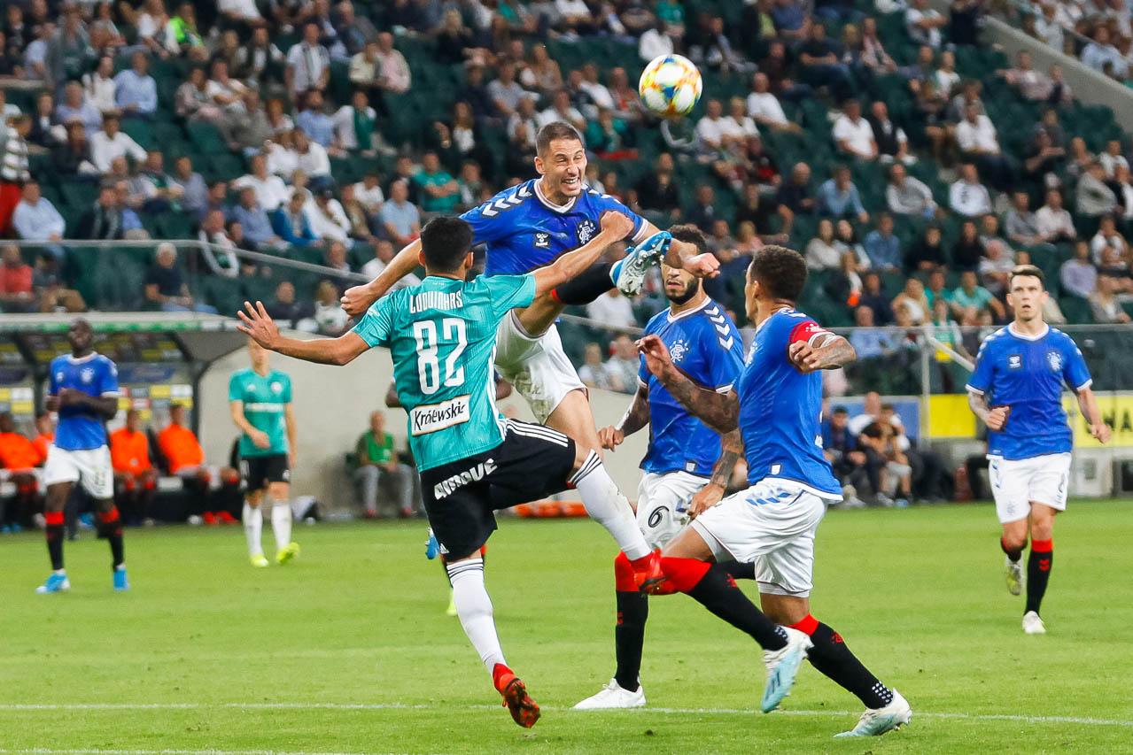 Legia Warszawa 0-0 Rangers FC - fot. Piotr Galas (zdjęcie 60 z 75)