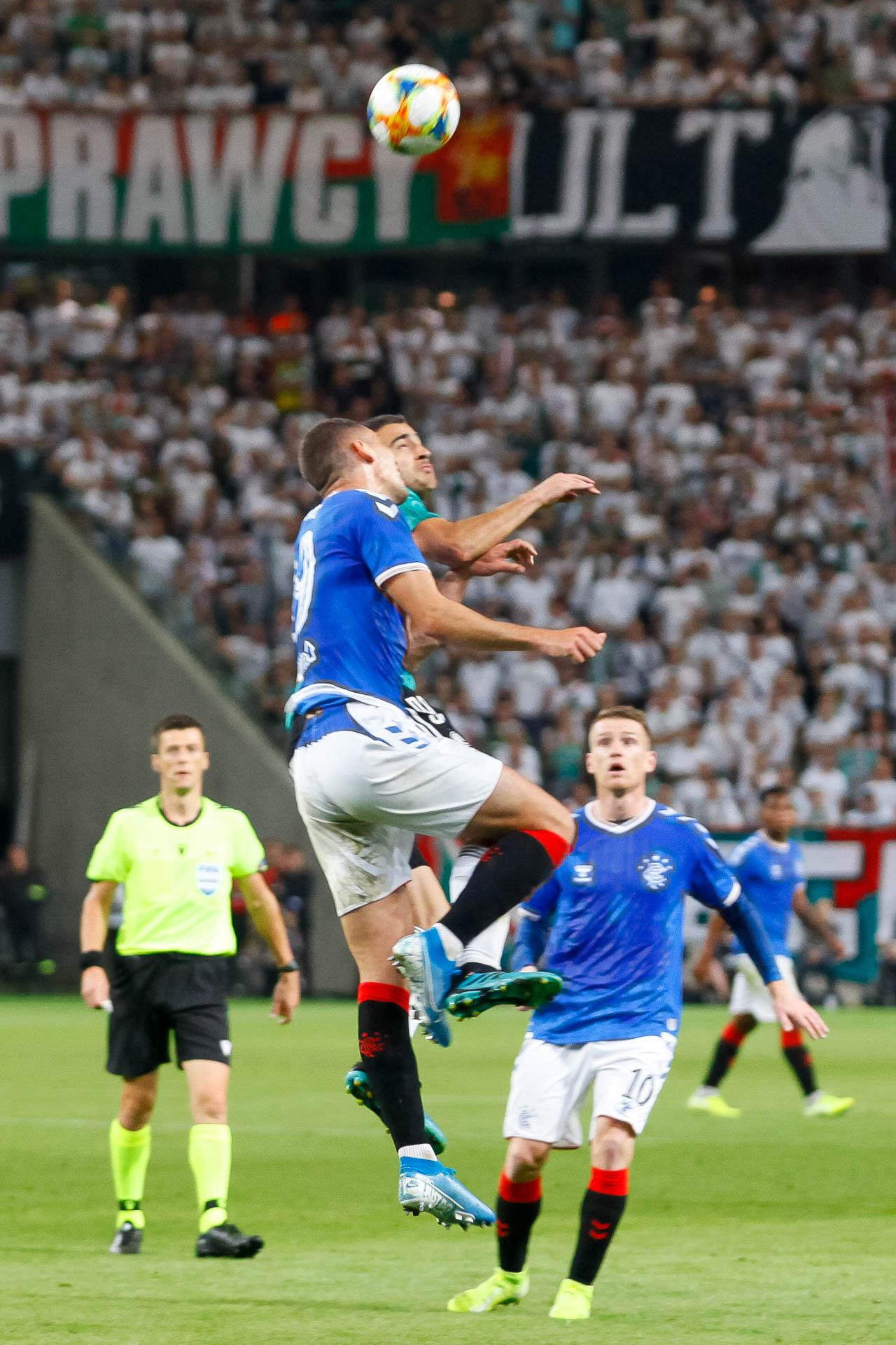 Legia Warszawa 0-0 Rangers FC - fot. Piotr Galas (zdjęcie 61 z 75)