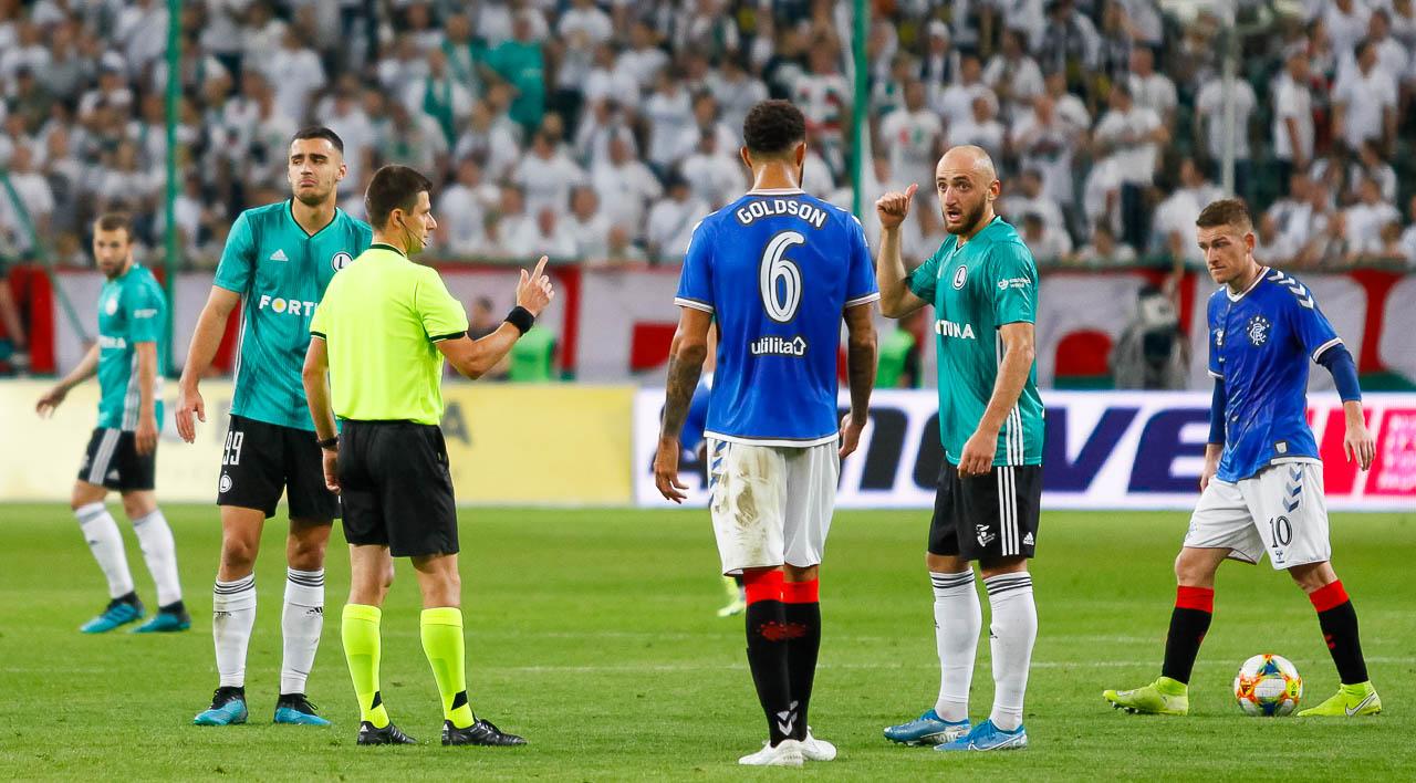 Legia Warszawa 0-0 Rangers FC - fot. Piotr Galas (zdjęcie 63 z 75)