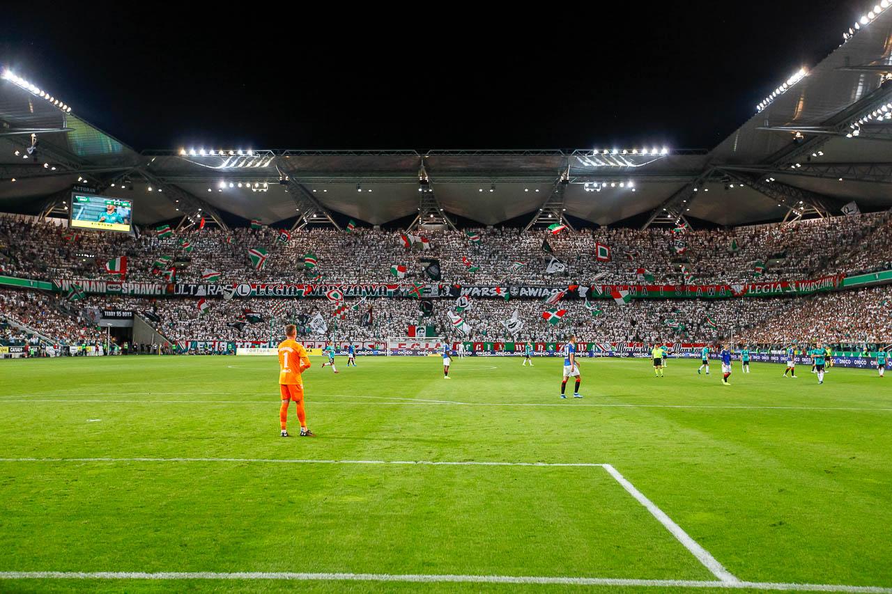 Legia Warszawa 0-0 Rangers FC - fot. Piotr Galas (zdjęcie 66 z 75)