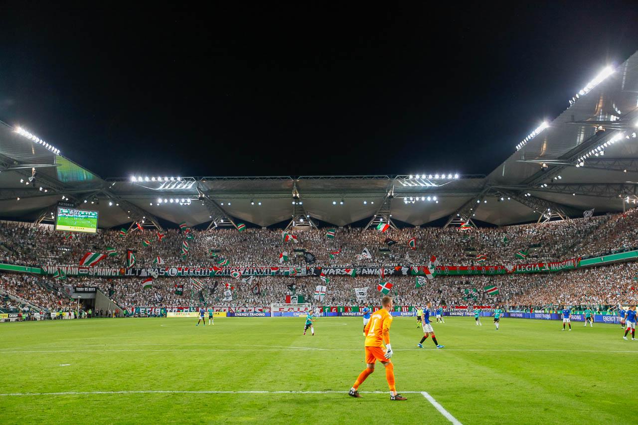 Legia Warszawa 0-0 Rangers FC - fot. Piotr Galas (zdjęcie 68 z 75)