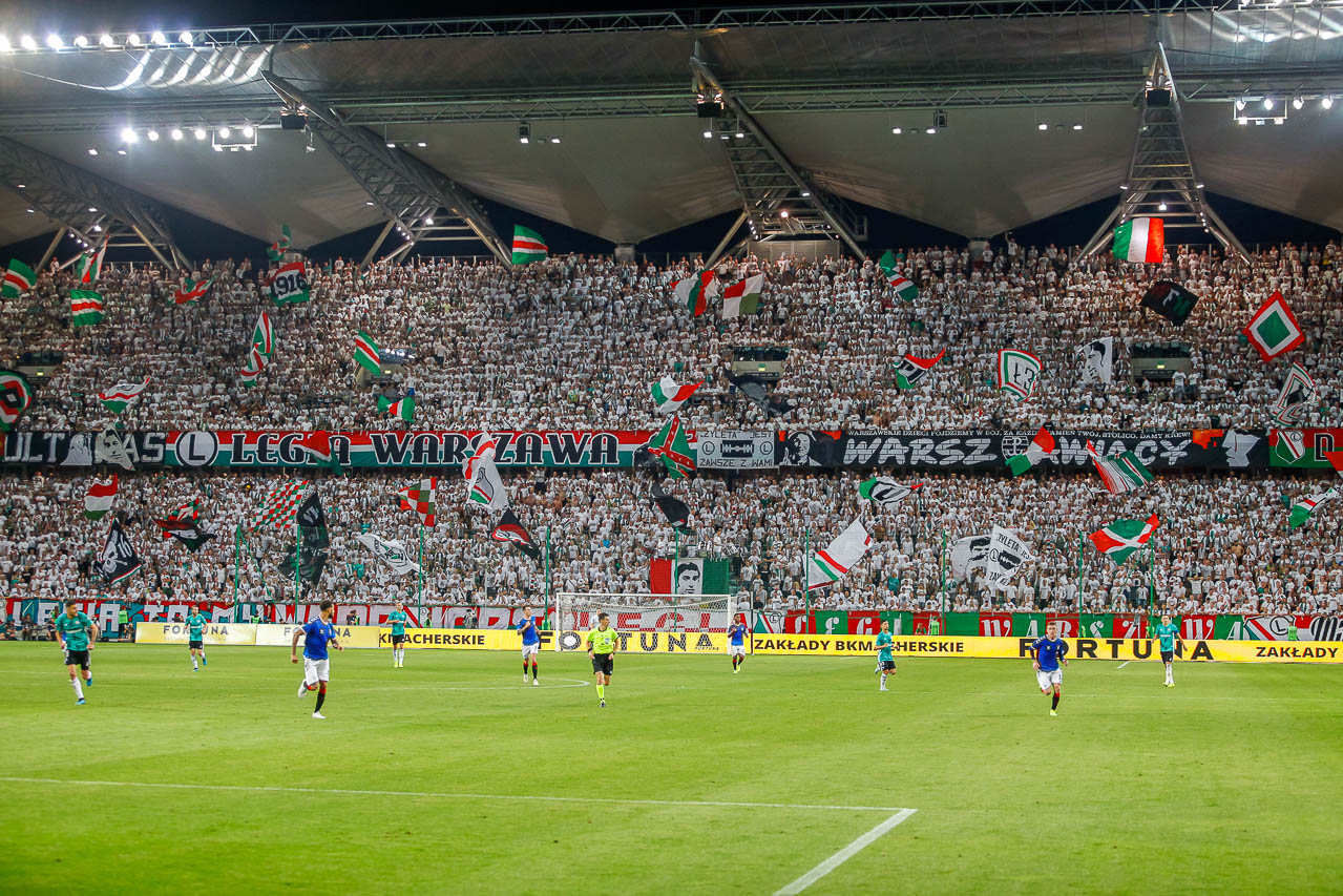 Legia Warszawa 0-0 Rangers FC - fot. Piotr Galas (zdjęcie 69 z 75)