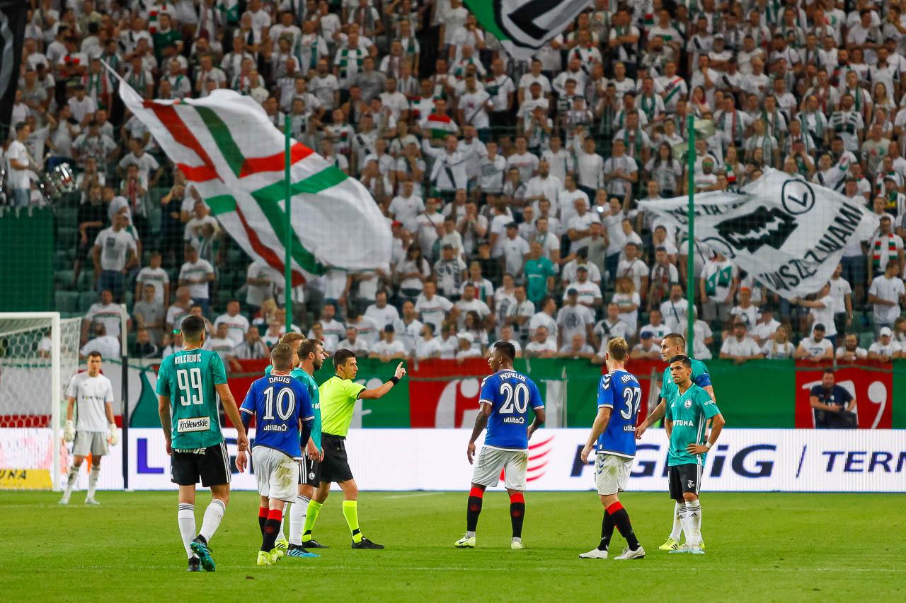 Legia Warszawa 0-0 Rangers FC - fot. Piotr Galas (zdjęcie 70 z 75)