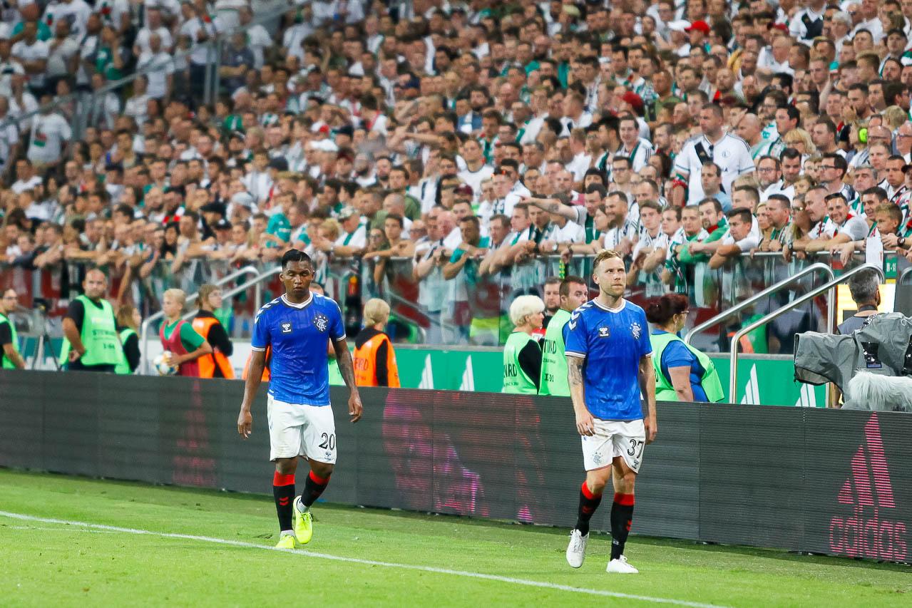 Legia Warszawa 0-0 Rangers FC - fot. Piotr Galas (zdjęcie 71 z 75)