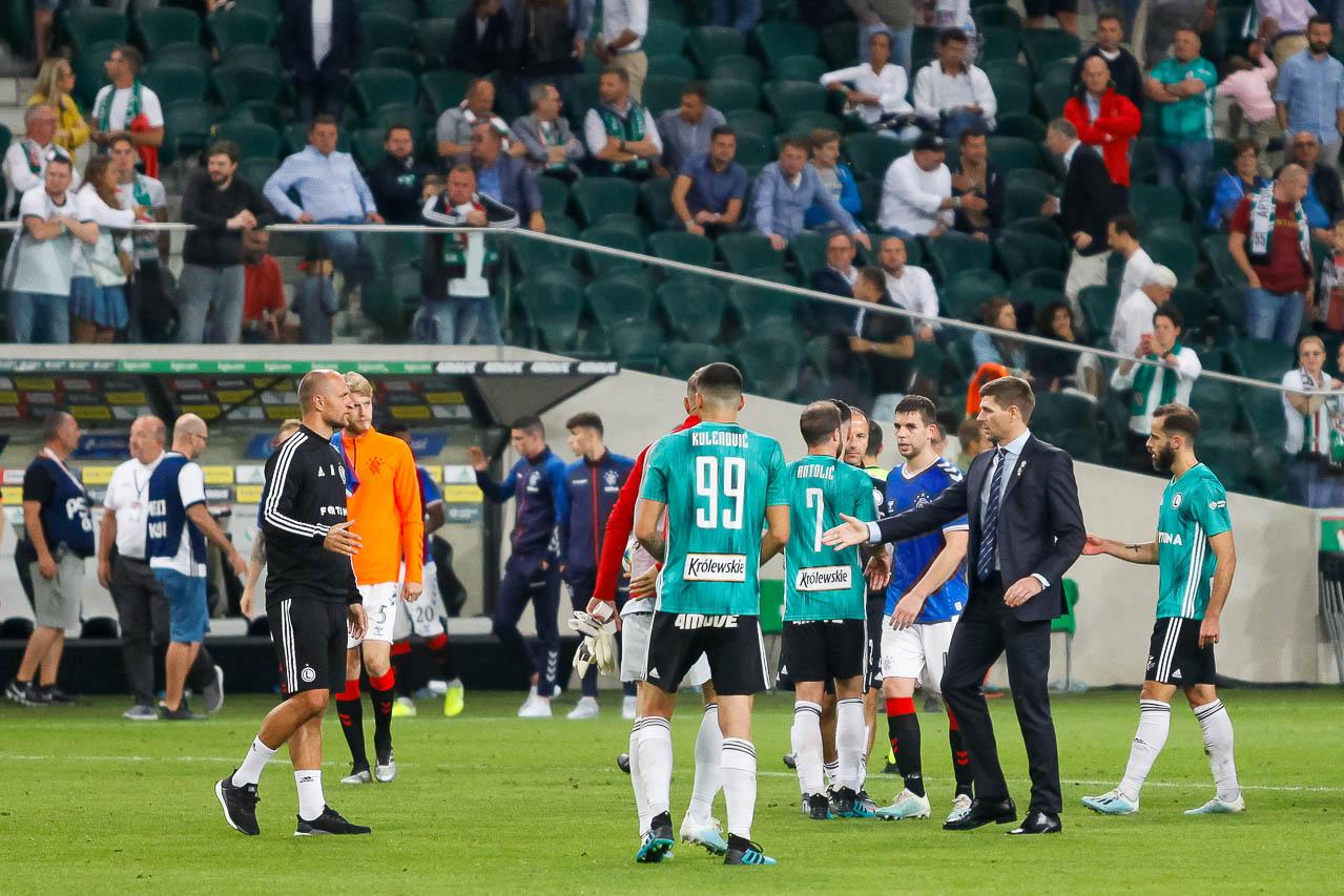 Legia Warszawa 0-0 Rangers FC - fot. Piotr Galas (zdjęcie 73 z 75)