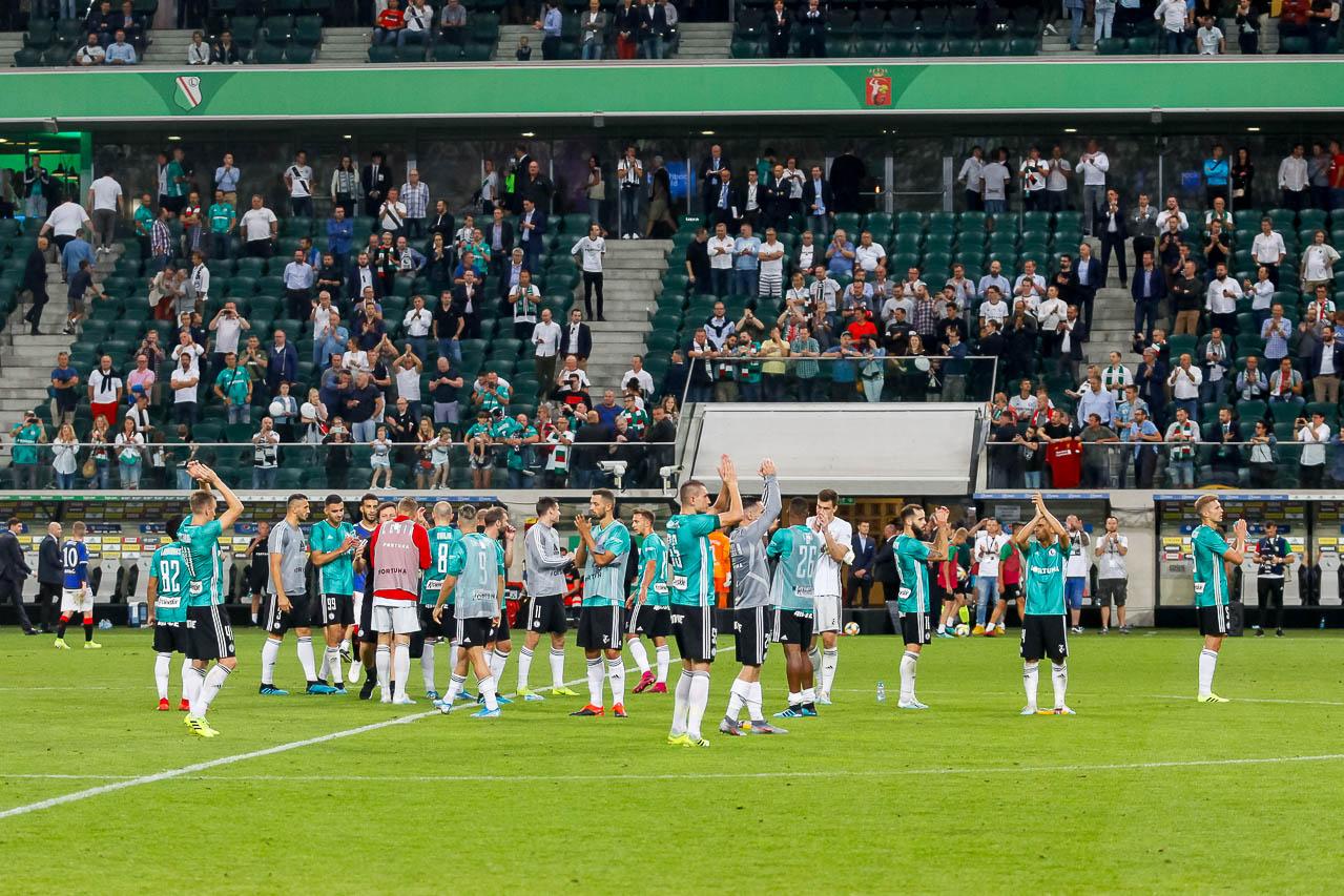 Legia Warszawa 0-0 Rangers FC - fot. Piotr Galas (zdjęcie 75 z 75)