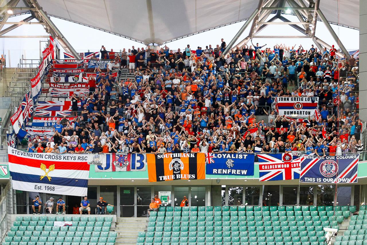 Legia Warszawa 0-0 Rangers FC - fot. Piotr Galas (zdjęcie 8 z 75)