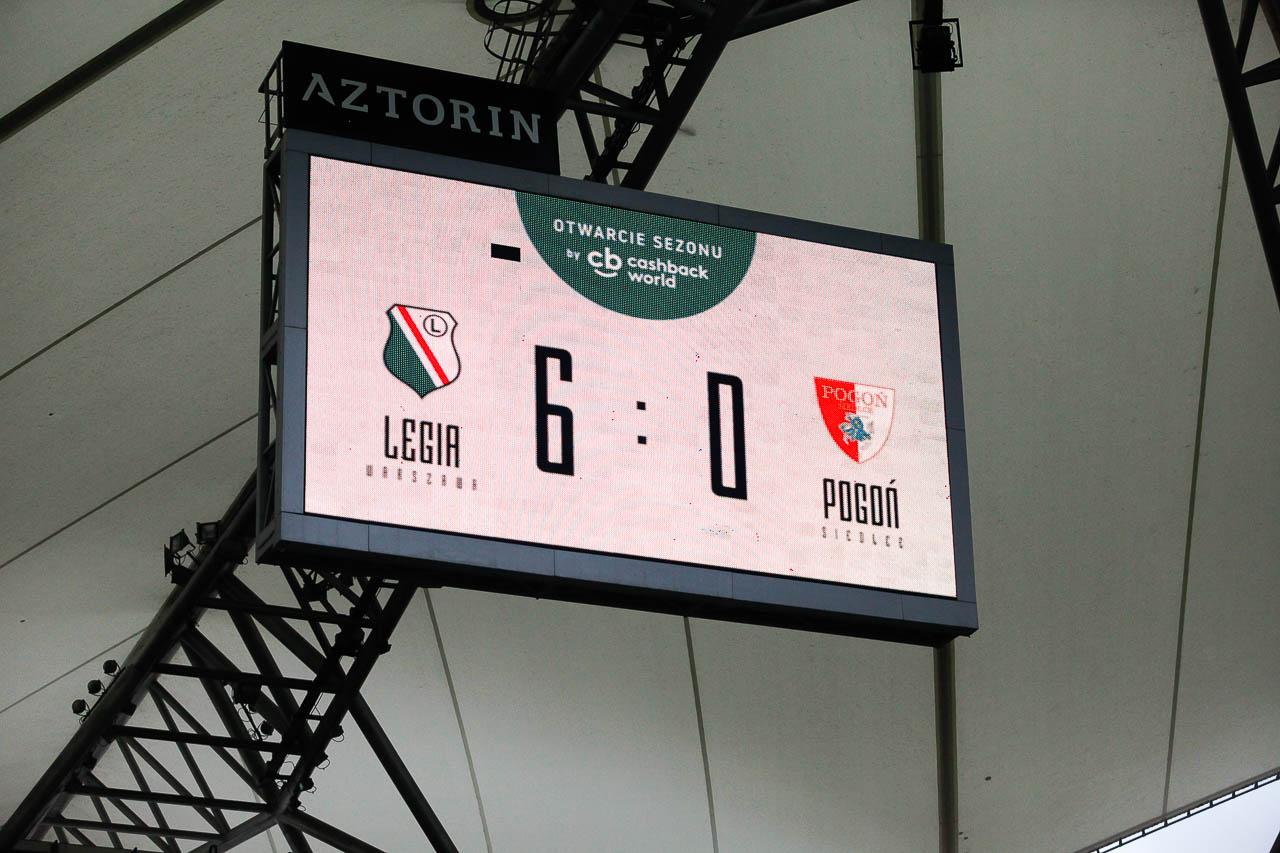 Sparing: Legia Warszawa 6-0 Pogoń Siedlce - fot. Piotr Galas (zdjęcie 64 z 64)
