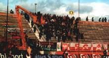 150 fanów Legii w Lubinie - źródło: Nasza Legia