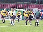 W ostatnim meczu w Katowicach padł remis 3-3 - fot. Woytek