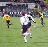 Ostatni mecz obu drużyn odbył się na Łazienkowskiej. Legia wygrała 1-0. - fot. Woytek