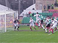 Legia atakowała cały meczu i to przyniosło suktek - fot. Woytek