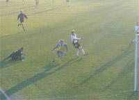 Ostatni mecz Legii w Radomsku zakończył się naszym zwycięstwem 2-1 - fot. Woytek