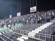 Pożegnanie jesieni w ubiegłym sezonie na Łazienkowskiej nie wypadło dobrze ani na trybunach, ani na boisku (Legia 2-4 Ruch Ch.) - fot. Woytek