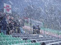 Poprzedni mecz z Ruchem na Łazienkowskiej odbywał się w bardzo ciężkich warunkach - fot. Woytek