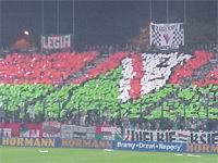 W środę na Łazienkowskiej ma panować taka atmosfera jak na meczu z Valencią fot. Woytek