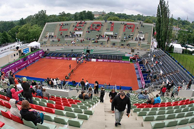 WTA Warsaw Open - finał turnieju tenisa na kortach Legii - fot. Piotr Galas (zdjęcie 1 z 54)