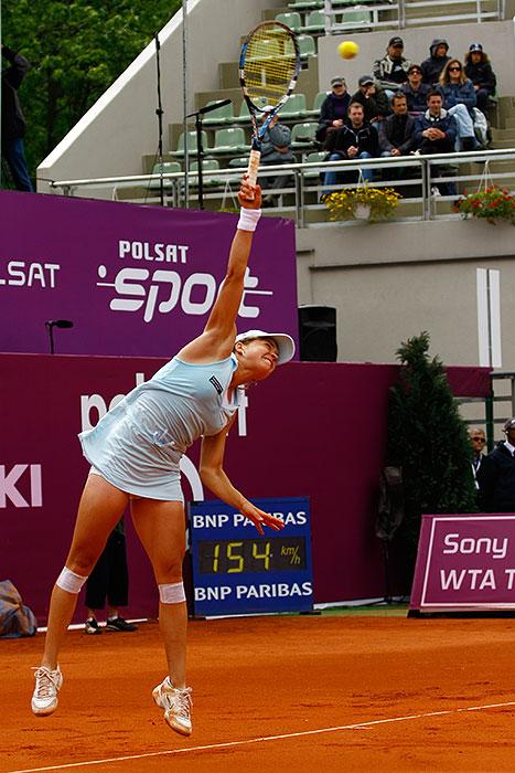 WTA Warsaw Open - finał turnieju tenisa na kortach Legii - fot. Piotr Galas (zdjęcie 14 z 54)