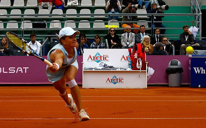 WTA Warsaw Open - finał turnieju tenisa na kortach Legii - fot. Piotr Galas (zdjęcie 15 z 54)