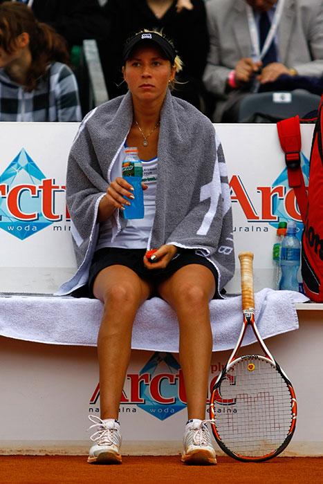 WTA Warsaw Open - finał turnieju tenisa na kortach Legii - fot. Piotr Galas (zdjęcie 16 z 54)