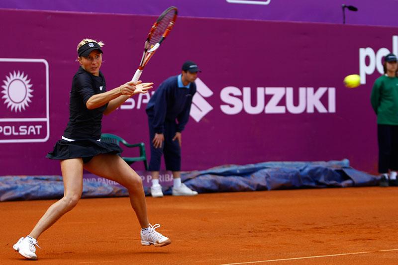 WTA Warsaw Open - finał turnieju tenisa na kortach Legii - fot. Piotr Galas (zdjęcie 19 z 54)