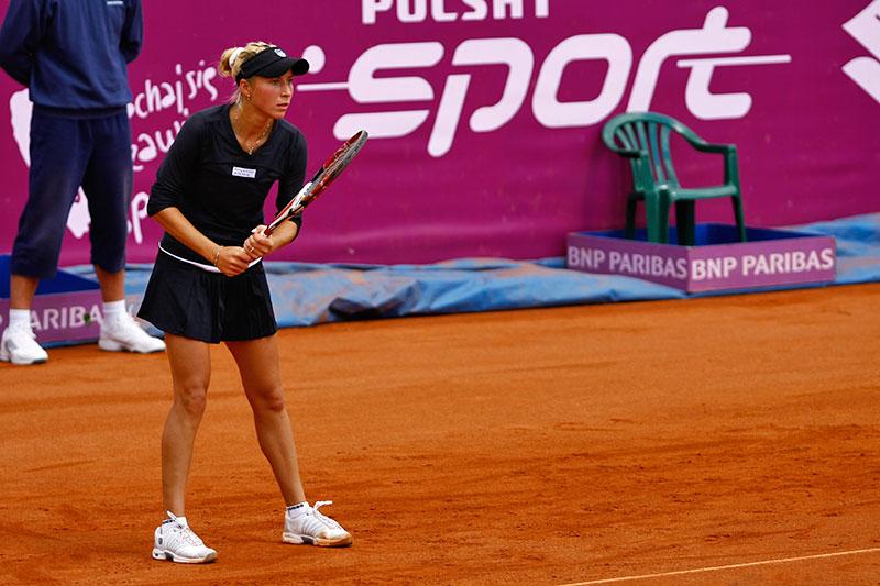 WTA Warsaw Open - finał turnieju tenisa na kortach Legii - fot. Piotr Galas (zdjęcie 2 z 54)