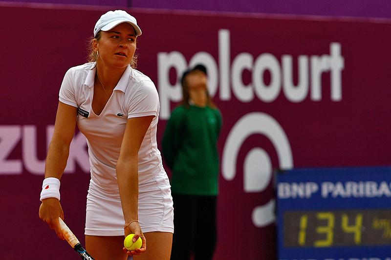 WTA Warsaw Open - finał turnieju tenisa na kortach Legii - fot. Piotr Galas (zdjęcie 22 z 54)