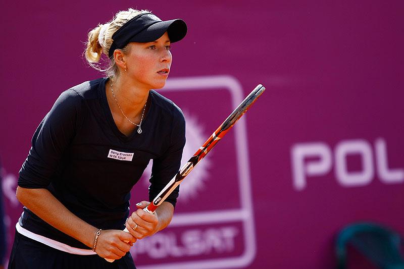 WTA Warsaw Open - finał turnieju tenisa na kortach Legii - fot. Piotr Galas (zdjęcie 24 z 54)