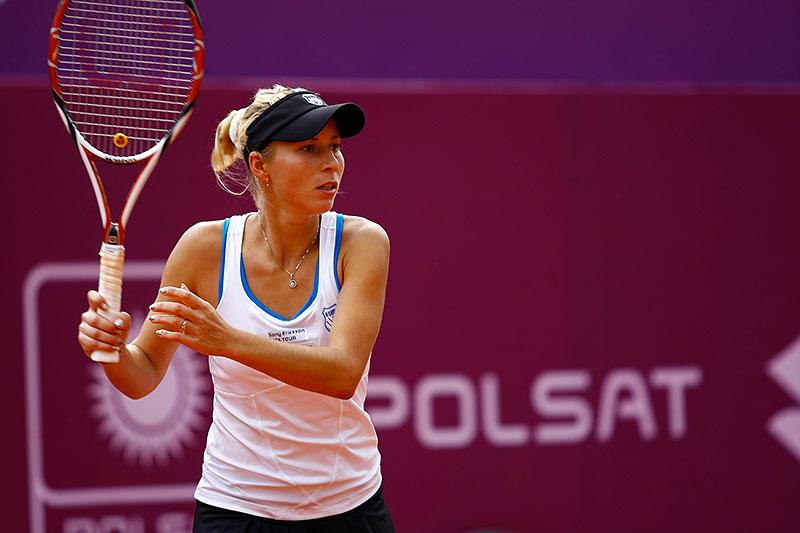 WTA Warsaw Open - finał turnieju tenisa na kortach Legii - fot. Piotr Galas (zdjęcie 29 z 54)