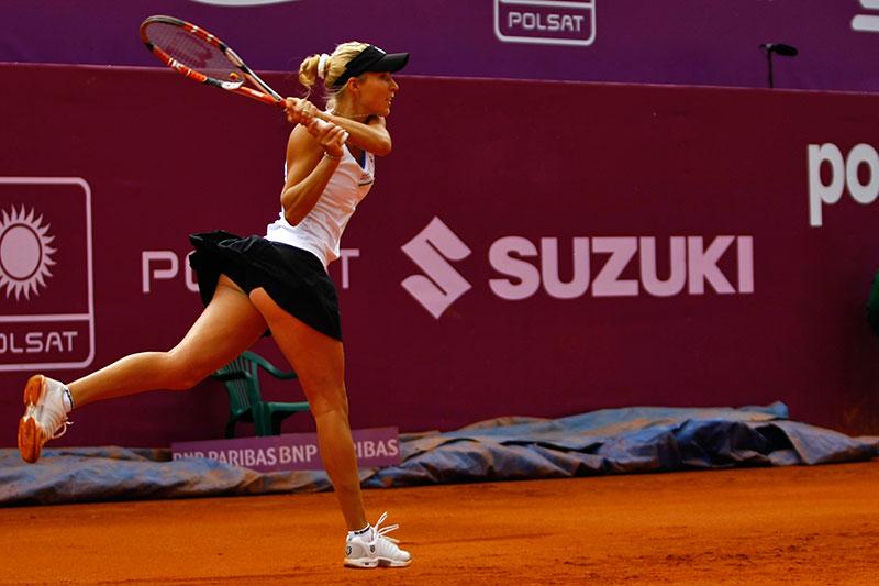 WTA Warsaw Open - finał turnieju tenisa na kortach Legii - fot. Piotr Galas (zdjęcie 31 z 54)