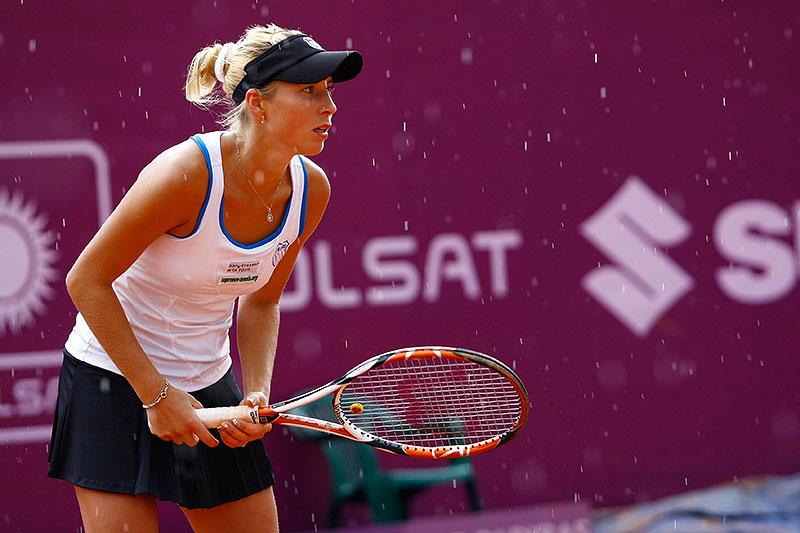 WTA Warsaw Open - finał turnieju tenisa na kortach Legii - fot. Piotr Galas (zdjęcie 32 z 54)