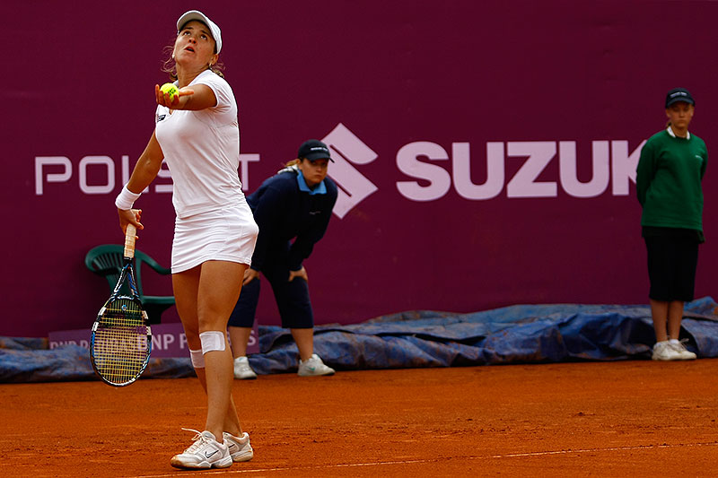 WTA Warsaw Open - finał turnieju tenisa na kortach Legii - fot. Piotr Galas (zdjęcie 38 z 54)