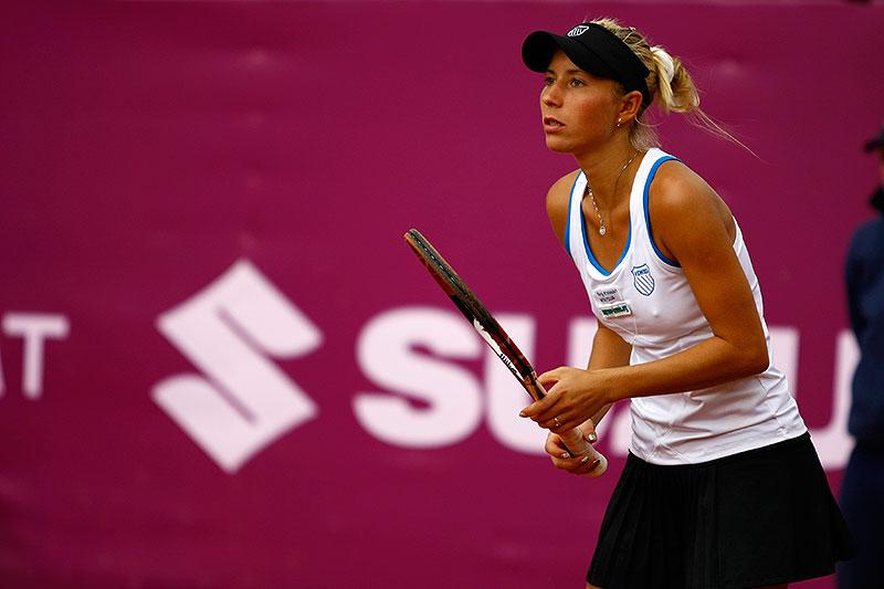 WTA Warsaw Open - finał turnieju tenisa na kortach Legii - fot. Piotr Galas (zdjęcie 39 z 54)