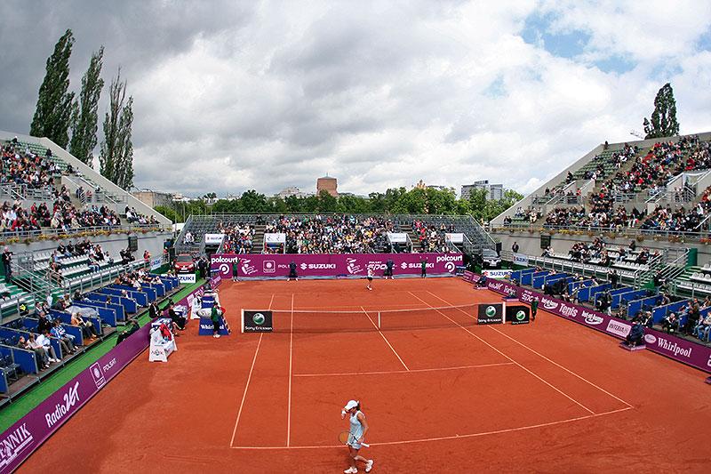 WTA Warsaw Open - finał turnieju tenisa na kortach Legii - fot. Piotr Galas (zdjęcie 4 z 54)