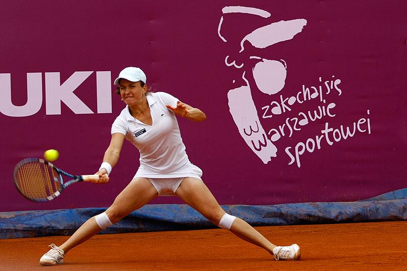 WTA Warsaw Open - finał turnieju tenisa na kortach Legii - fot. Piotr Galas (zdjęcie 40 z 54)
