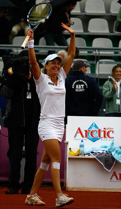 WTA Warsaw Open - finał turnieju tenisa na kortach Legii - fot. Piotr Galas (zdjęcie 43 z 54)
