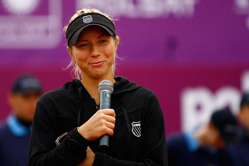 WTA Warsaw Open - finał turnieju tenisa na kortach Legii - fot. Piotr Galas (zdjęcie 47 z 54)