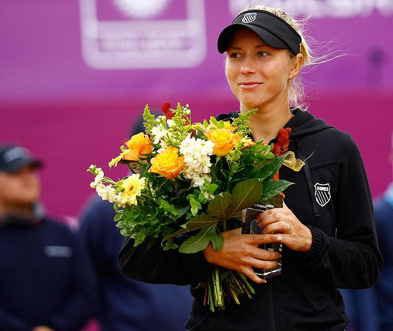 WTA Warsaw Open - finał turnieju tenisa na kortach Legii - fot. Piotr Galas (zdjęcie 48 z 54)