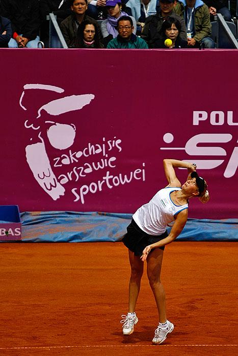 WTA Warsaw Open - finał turnieju tenisa na kortach Legii - fot. Piotr Galas (zdjęcie 5 z 54)