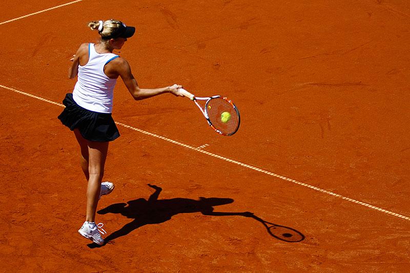 WTA Warsaw Open - finał turnieju tenisa na kortach Legii - fot. Piotr Galas (zdjęcie 6 z 54)