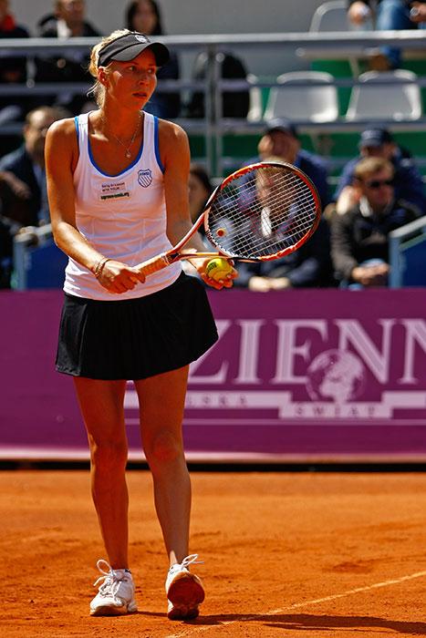 WTA Warsaw Open - finał turnieju tenisa na kortach Legii - fot. Piotr Galas (zdjęcie 7 z 54)