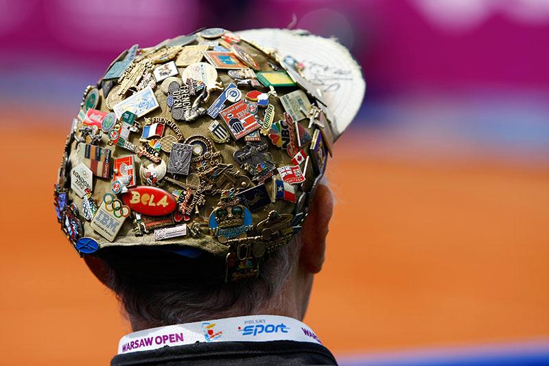 WTA Warsaw Open - finał turnieju tenisa na kortach Legii - fot. Piotr Galas (zdjęcie 9 z 54)