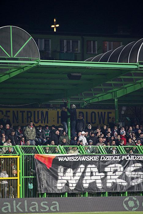 GKS Bełchatów 0-1 Legia Warszawa - fot. Piotr Galas (zdjęcie 40 z 69)
