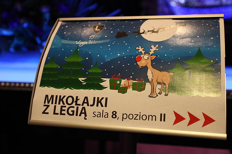 Mikołajki z Legią (poniedziałek) - fot. Piotr Galas (zdjęcie 21 z 21)